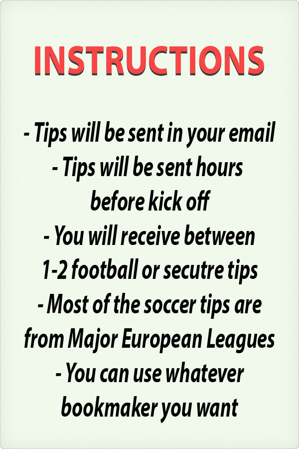 Soccer tips Football predictions Best tipsters
